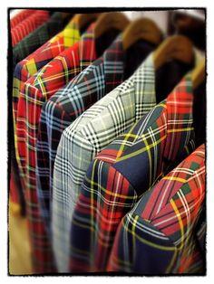 Tartan Suits by Silbon Spain Tartan done right