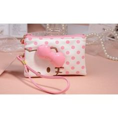 I love Hello Kitty so muchhhhhhhhhhhhh! Japanese Toys, Cute Japanese, Cute Purses, Purses And Bags, Hello Kitty Purse, Hello Kitty Collection, Pretty Cats, Pretty Kitty, Kawaii Shop