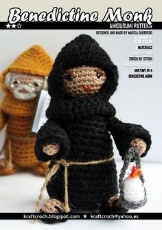 Benedictine Monks by Kraft Croch Pattern.  This is just too funny!
