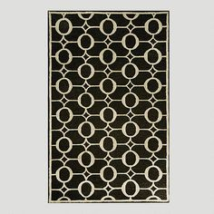 One of my favorite discoveries at WorldMarket.com: Midnight Indoor-Outdoor Rug