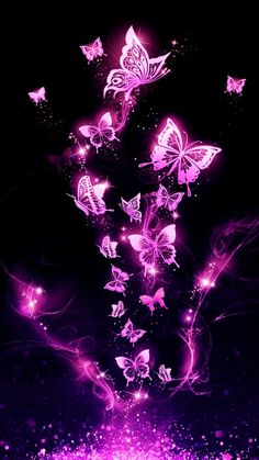 It is butterfly wallpaper you can keep it on your phone wallpaper or somewhere else it is a purple butterfly wallpaper Purple Butterfly Wallpaper, Glitter Phone Wallpaper, Love Wallpaper Backgrounds, Cute Galaxy Wallpaper, Flower Phone Wallpaper, Neon Wallpaper, Scenery Wallpaper, Pretty Wallpapers, Colorful Wallpaper