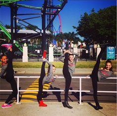 "Maddie Ziegler toured with the ""ALDC Australia Tour"" [2014]"