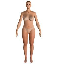 Your virtual body... Enter your measurements and find out what is the best way to dress for your body type.