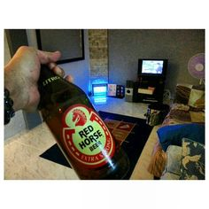 #blessthishouse new renovated brothers #house #redhorse #beer #celebration #改築祝い #フィリピン#philippines