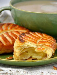 Chaussons aux pommes französische Apfeltaschen Rezept Leckere