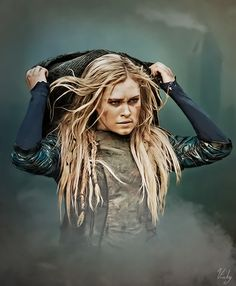 Ambassador. Clarke Griffin #the100 art by natblida on tumblr