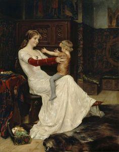Albert Edelfelt - 'Queen Bianca'. Go to http://kokoelmat.fng.fi/wandora/w?si=A+II+1405 for spoken background info on this lovely painting.