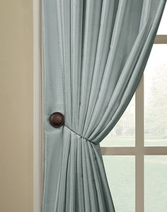 Magnetic Tieback Pair Curtainworks Could Use This For The Tie Backs Or Pick