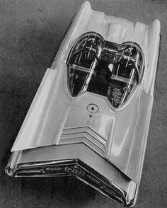 1954 Lincoln Futura - Ford Styling  Show Car - later to become The Batmobile