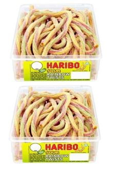 2-X-FULL-TUBS-HARIBO-SWEETS-WHOLESALE-DISCOUNT-CANDY-BOX-PARTY-FAVOURS-TREATS