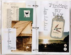 """Learn a cool way to incorporate list making with art journaling, using inspiration from Nicole Rae's """"Art Journal Art Journey."""""""