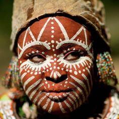 Resultado de imagem para corporal painting africa