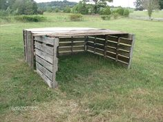 Build your own sheep shelter for free!