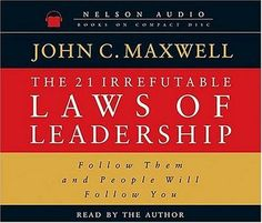 [AudioBook] The 21 Irrefutable Laws of Leadership by John C. Maxwell Publisher…