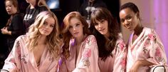 FRIDA AASEN, ALEXINA GRAHAM, VANESSA MOODY & HEREITH PAUL BACKSTAGE VICTORIA'S SECRET 2017 FASHION SHOW IN SHANGHAI CHINA ON NOVEMBER 20, 2017-LIVES2SHOP247NYC