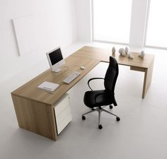 Minimalist office desk brilliant office adorable minimalist home office desk furniture with throughout minimalist office desk . Computer Desk Design, Computer Desks For Home, Office Table Design, Home Desk, Office Interior Design, Office Interiors, Office Decor, Office Ideas, Interior Goods