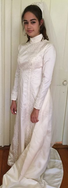 Vintage 1960's Bianchii Wedding Dress by WillieJoandWoodies