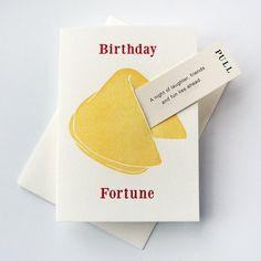 Letterpress Birthday