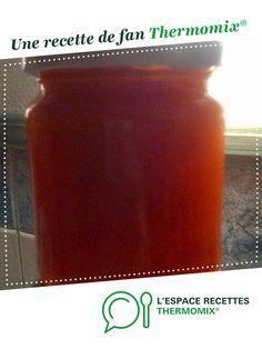 Confiture de mirabelles par fabflo. Une recette de fan à retrouver dans la catégorie Sauces, dips et pâtes à tartiner sur www.espace-recettes.fr, de Thermomix<sup>®</sup>.