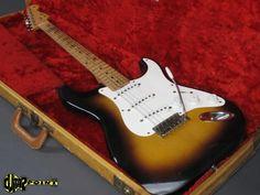 Fender Stratocaster 1956 2 Tone Sunburst   Reverb