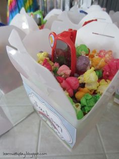 Rainbow Party Ideas from Learn With | http://my-party-ideas-collections.blogspot.com