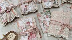 Pink Rose Shabby Chic Journal Flip through - YouTube