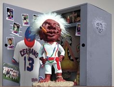 """Buy The Jobu Major League Movie Replica Figure. Officially Licensed Replica from the hit baseball movie Major League. Get Superstitious! """"Is very bad to steal Jobu's rum. Is very bad. Cleveland Team, Cleveland Indians Baseball, Major League Movie Quotes, Mlb Indians, Baseball Pitching, Baseball Pants, Baseball Tickets, Baseball Savings, Baseball Teams"""