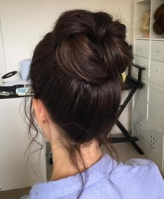 Prom Hairstyles For Short Hair, Bun Hairstyles For Long Hair, Casual Hairstyles, Hair Updo, Wedding Hairstyles, Office Hairstyles, Anime Hairstyles, Hairstyles Videos, School Hairstyles