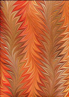 coloris ocre et automne         coloris bleu-rouge et grenat