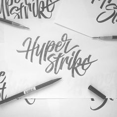 267/365 Hyperstrike  Just a random pencil piece tonight was really just doodling and experimenting seeing what I could come up with. I enjoyed doing this tonight and will get it vectored sometime this week. by ligatures
