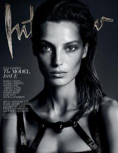 Daria Werbowy for Interview September 2013 Covers by Mert Alas and Marcus Pigott