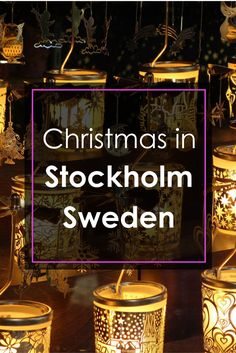 Everything You Need to Know about Christmas in Stockholm, Sweden | Click through for full Guide! || Slow Travel Stockholm