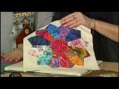 MANI DI LARA - Piatto di Dresda, modello patchwork base - YouTube