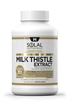 Solal Milk Thistle - http://www.liferetreat.co.za/shop/supplements-2/solal-milk-thistle/ Milk Thistle Extract is used to treat heartburn and digestive upset, as well as supporting and protecting liver function      Life Retreat   South Africa