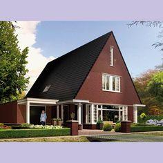 Huis bouwen Icarusblauwtje voorzijde