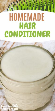 Do you want an all-natural hair conditioner that will give you luxurious locks without using any harmful ingredients? Thanks to this Homemade Hair Conditioner recipe you are only 4 ingredients and 3 steps away! That's right this easy to make DIY hair conditioner can be whipped together in about ten minutes and for much less than store bought products. Give it a try today! Natural Hair Recipes, Natural Hair Styles, Natural Beauty, Homemade Beauty Products, Diy Products, Natural Products, Diy Beauty, Beauty Care, Beauty Tips