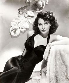 Ava Gardner, Wish i could get my hair to do that just once.