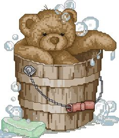 bear in tub  To get the chart  click on the first line under the photo