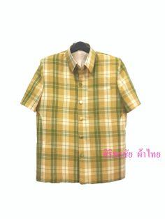 เสื้อสูทชายผ้าฝ้าย เสื้อสูทชายลายบลูเบอร์รีโทนเหลืองเขียว สูทผ้าไทยชาย ซาฟารีผ้าไทยชายสีเหลือง PRODUCT ID:ST 0119 SIZE: L (พร้อมส่ง) สี:ตามภาพ ผ้า:ผ้า...