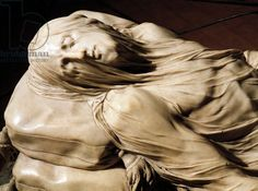 Veiled Christ, 1753, by Giuseppe Sammartino (ca 1720-1793), marble sculpture, Detail, Italy, 18th century
