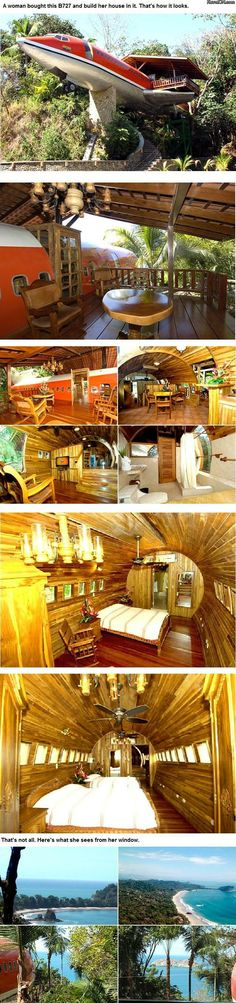 Not something I would want to live in but by far the coolest house ever!