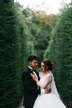 #wedding #pictures #shoot #nature #outside #couple #groom #black #tie #bride #veil #photography