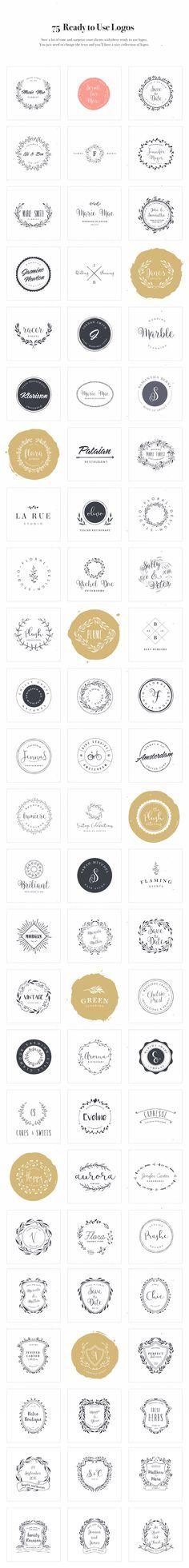 Logo Design Kit by VladCristea on @creativemarket