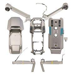Drone Repair Parts Set Drone Technology, Technology World, Drone Quadcopter, Drones, Air Drone, Renda Extra Online, Phantom 4, Mavic, 4k Hd