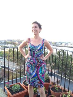 View details for the project Mosaic Sweetheart Dress on BurdaStyle.