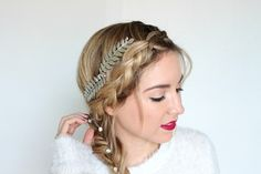 Side Braid Tutorial: This Snow-Kissed Hairstyle Is Perfect For The Holidays