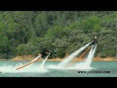 Jetovator, Flying, water-powered bike  http://www.flickr.com/photos/developer71/7187835587/