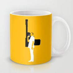 FRANCISCO SCARAMANGA Mug @ http://society6.com/vectorvectoria/francisco-scaramanga_mug#27=199