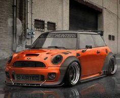 Mini cooper orange tuning bombastic!!!!