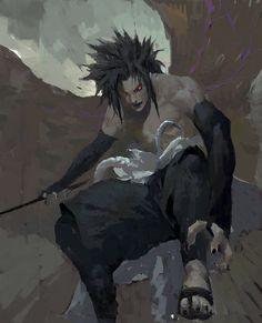 Sasuke in rage ^^ #sasuke #uchiha